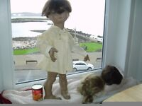 vintage 1950/60s child/doll mannequin