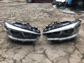 Bmw 1 series F20 LCI LED XENON 2015 2016 2017 Genuine pair of headlights for sale