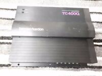 HARMAN KARDON TC400Q 4 CHANNEL CAR AMPLIFIER OLD SCHOOL