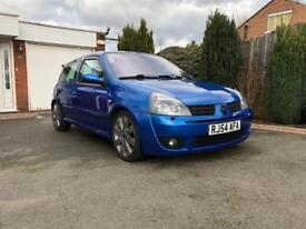 Renault Clio Sport 16v 182 FF 2.0 Clean MOT Scorpion Exhaust and more