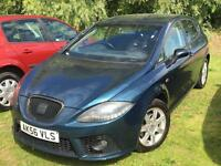 SEAT LEON 1.9 TDI 2007 + FULL SERVICE HISTORY + MOT TILL APRIL 2018 + DRIVES SUPERB