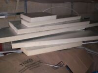 Offcuts of 50mm Celotex,