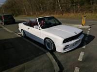 Bmw E30 325i motorsport mtec 2 convertible white