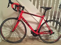 Road Bike - Cube Peloton SL 2015 Red/ Black 58cm - 1 year old - used twice, in brand new condition