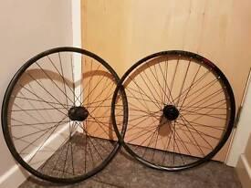 650b 27.5 wheelset 100x15 front 135x9 qr rear