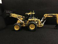 LEGO Technic 8069 Backhoe Loader Set with box and instructions