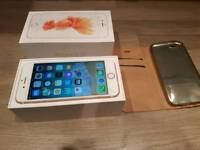 IPhone 6s rose gold gold condition (unlock to any network)