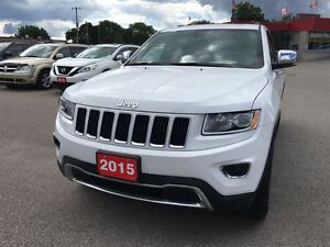 2015 Jeep Grand Cherokee Limited London Ontario image 3