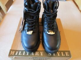 HIGHLANDER A.T.F. GAMMA MILITARY STYLE BOOTS