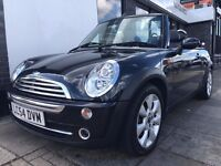 MINI Convertible 1.6 Cooper 2dr SAT-NAV & HEATED BLACK LEATHER
