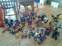 HUGE LOT OF TRANSFORMER TOYS......CHEAP!!!!!!!!!