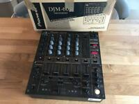 Pioneer DJM 600 Professional DJ Mixer - Fully Boxed -Great condition