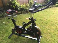 Exercise / Spin bike - ALMOST NEW
