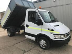 Iveco daily 35C12 Alloy sided dropside tipper, Direct from the company, Great work truck