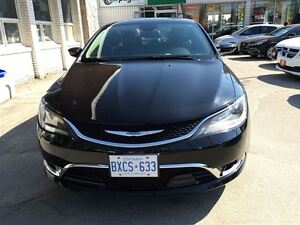 2015 Chrysler 200 TOP OF THE LINE/CLEAROUT/PRICED FOR A QUICKSAL Kitchener / Waterloo Kitchener Area image 12