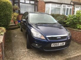 Focus Zetec, 1.6 TDCI, 110hp. VGC, FSH, A/C, Heated Windscreen, 2 Owners only, 60MPG, £30 tax