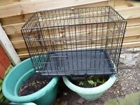 SMALL DOG CAGE, LIKE NEW, BARGAIN £25, CAN DELIVER
