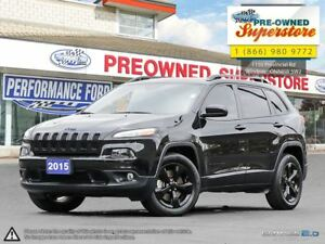 2015 Jeep Cherokee North***Black Pack***