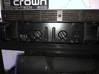 Crown amp and hill amp