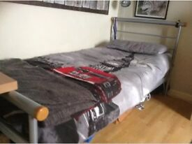 Metal single beds / children's beds (2 available)