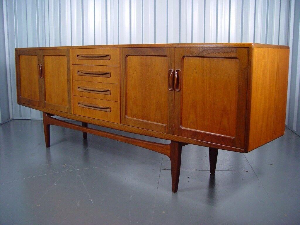Vintage G Plan Sideboard Retro Mid Century Furniture