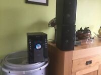 Sharp hi fi micro system with iPod docking and DAB CD
