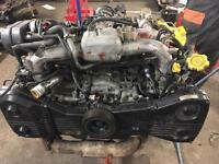 Subaru Impreza STi closed deck block engine
