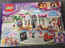 Lego friends 41119 heartlake cupcake cafe