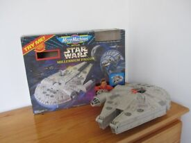 1990's Star Wars large Millennium Falcon rare collectible by Micro Machines