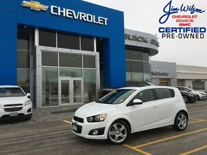 2016 Chevrolet Sonic LT AIR SUNROOF ALLOYS HEATED SEATS!!!
