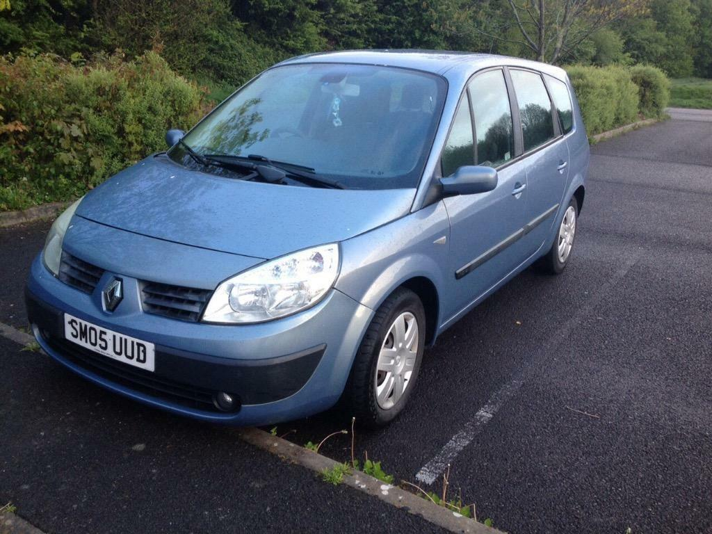 renault grand scenic 1 6 vvt 2005 73k in ivybridge devon gumtree. Black Bedroom Furniture Sets. Home Design Ideas
