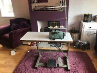 Willcox and gibbs industrial overlocker sewing machine
