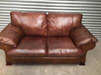 Dfs high quality leather sofas
