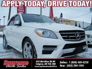 2013 Mercedes-Benz M-Class ML350 BLUETEC 4MATIC/AMG SPORT PKG/NA