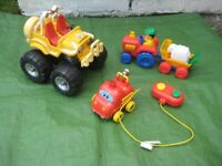 Three Toy Vehicles for Great Fun at Play - Please See Separate Prices