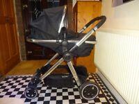 BARGIN****Mothercare Journey Pram to pushchair plus car seat