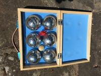 Boxed French Boules set