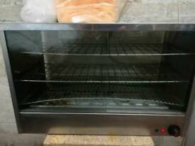 Pie warmer display