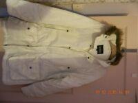 Medium Ladies Cream Coat