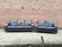 DFS Italian Leather Sofas