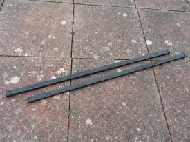 Thule SquareBar 120cm Long Steel Roof Bars x2