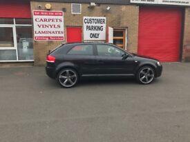 Audi A3 s3 looks low miles 70000 full year Mot bargain at £2495