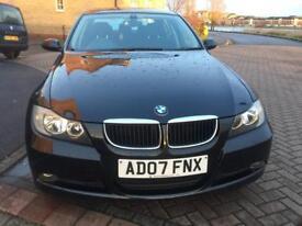 BMW 320 I 4 DOOR SALOON MANUAL PETROL BLACK