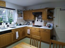 Kitchen Units, Solid Wood Doors and Worktops