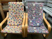 Ikea kids chairs