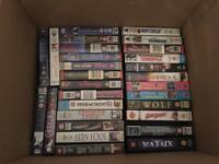 Job lot of VHS videos / tapes
