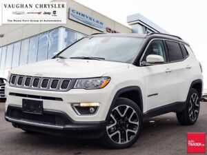 2018 Jeep Compass Limited 4x4* Panoramic Sunroof *Navigation