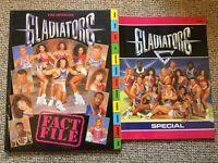 ORIGINAL Gladiators Books (1992)!
