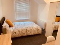 Newly Furnished ESUITE DOUBLE ROOM Close To WATFORD GENERAL HOSPITAL.