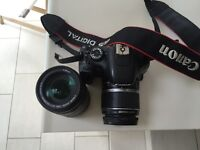 Used CANON EOS 550D + Extra LENSE for SALE